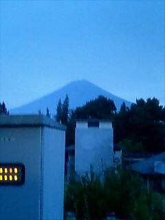 富士山で〜す!